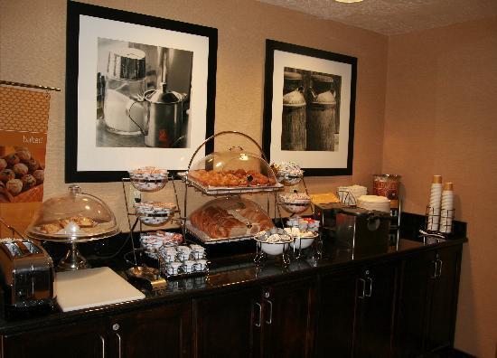 Hampton Inn Salt Lake City/Murray : Breakfast1