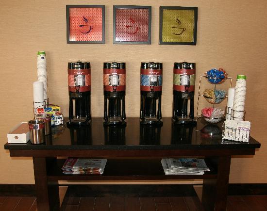 Hampton Inn Salt Lake City/Murray : Coffee section