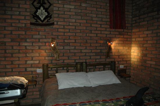 Cerro Del Valle Hotel Rustico: La habitación