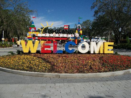 Winter Haven, FL: Entrance to Legoland