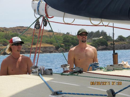Hawaii Nautical: The Capt. and Crew