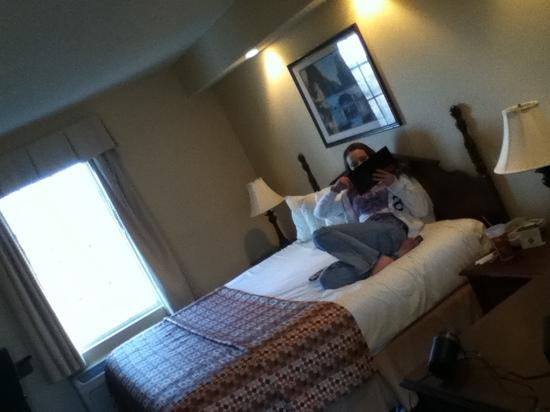 Baymont Inn & Suites Georgetown/Near Georgetown Marina : king suite ... very clean and quiet with great views