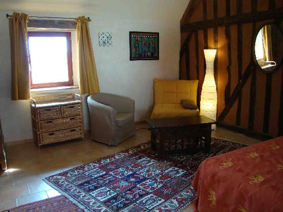 Cormeray, Frankrig: La chambre au colombage