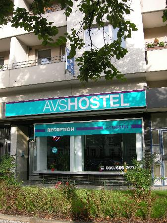 AVS Hostel: Reception