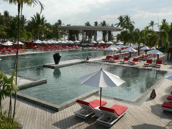 Club Med Bali: La piscine principale