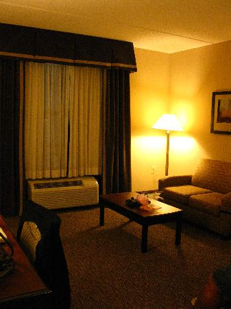 Hampton Inn & Suites Burlington : sitting area