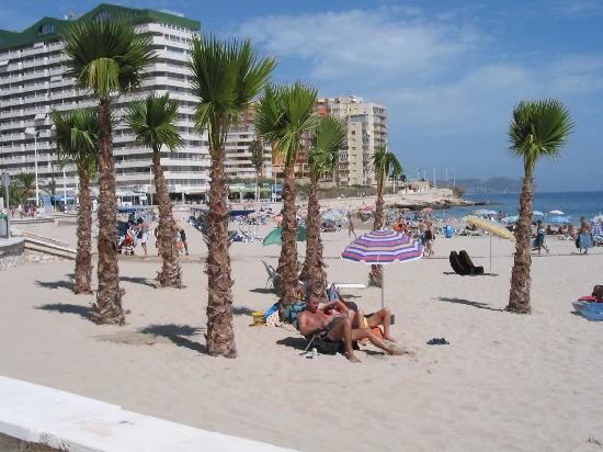Кальп, Испания: Calpe north beach