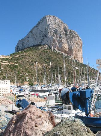 Кальп, Испания: Calpe fishing port