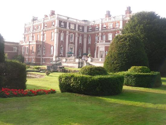 Swinfen Hall Hotel: The Hall from the Rear Garden