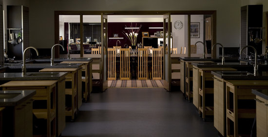 The Cook School Scotland: Our dining room