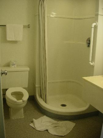 Motel 6 Davis - Sacramento Area: salle de bains
