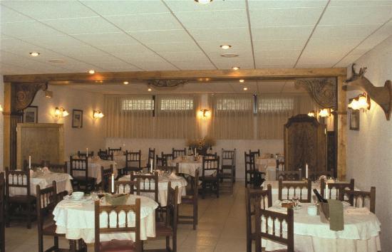 Xalet Verdu Hotel : salle du resto