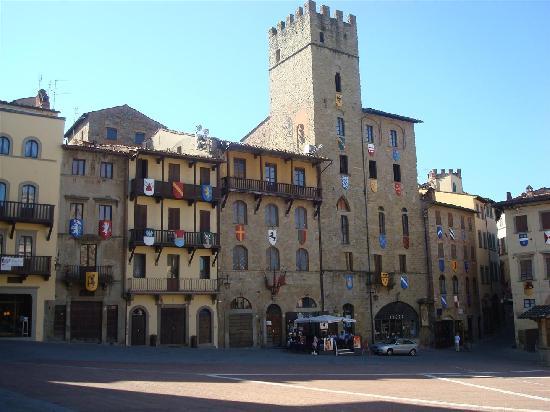 Etrusco Arezzo Hotel: OLD AREZZO