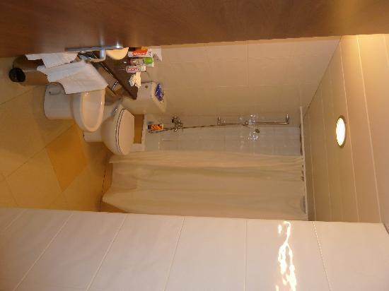 Aqua Hotel Aquamarina U0026 Spa: Badezimmer 3 1/2 M2