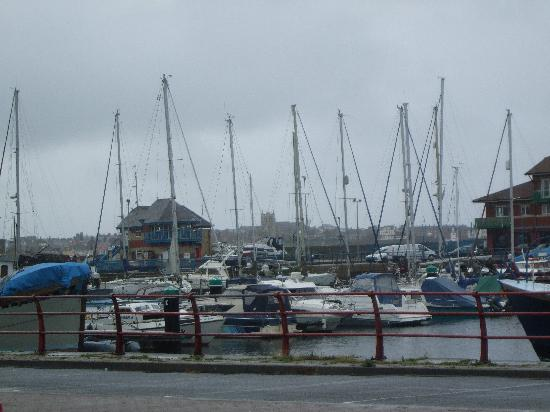 Premier Inn Hartlepool Marina Hotel: View of Marina (from car park)
