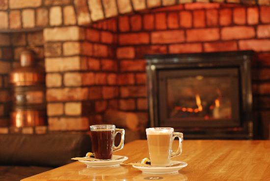 The Country Park: Coffee by the fire with the morning papers