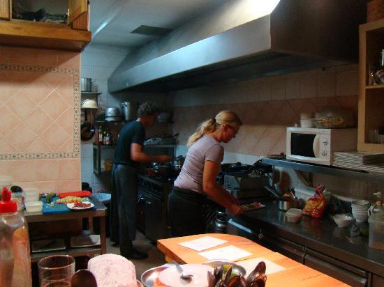 Tapas Plaza: open keuken