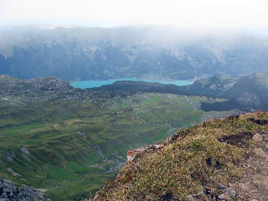 Grindelwald, İsviçre: View form Faulhorn