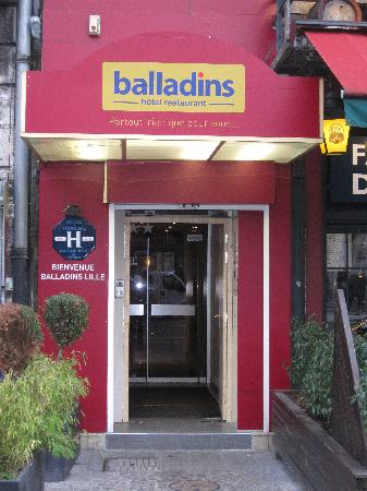 Hôtel balladins Lille : Extérieur