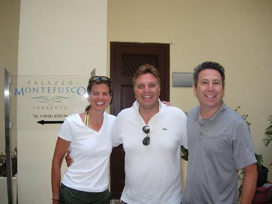 Palazzo Montefusco Sorrento: Terri, Ivan and Kyle