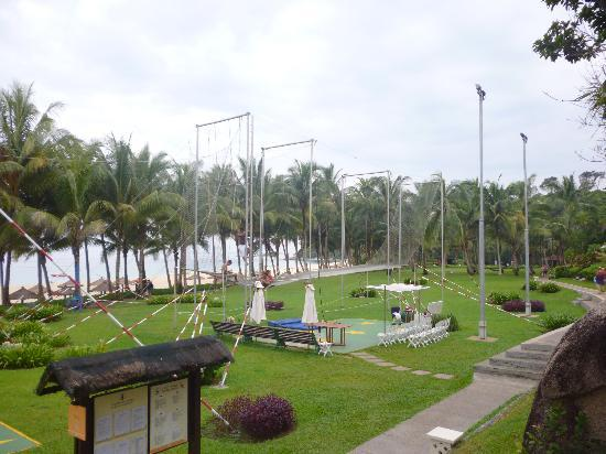 Club Med Bintan Island: TRAPEZE :D