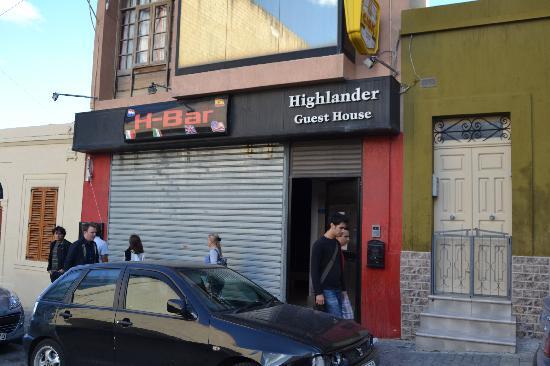 Highlander Guest House : ingresso