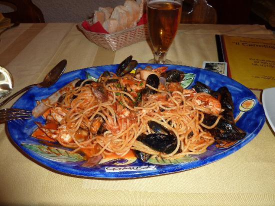 Il Carrettiere: The pasta that I recommend