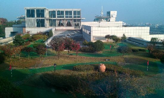 Hotel Inter-Burgo Daegu: 六樓房間窗外景觀