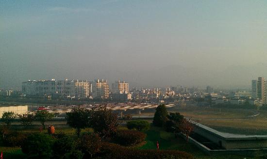 Hotel Inter-Burgo Daegu : 窗外景觀