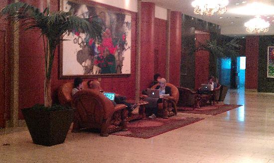 Hotel Inter-Burgo Daegu : 大廳