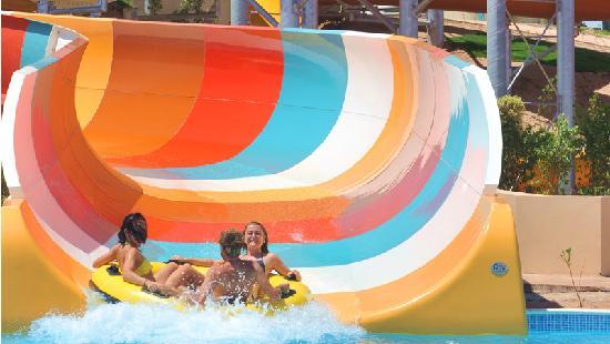 Makadi Water World : Family Slide