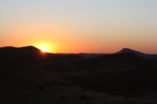 Kasbah Ouzina: amanecer