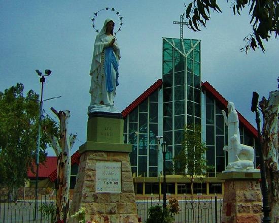Santuario de la Virgen de Lourdes: Lourdes en el Challao -  Mendoza-nuevo templo