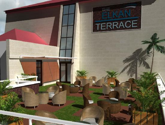 The Elkan Terrace: Beer Garden