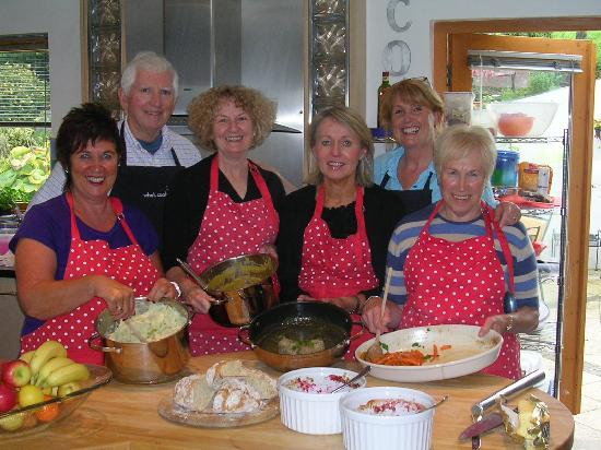 Lizzie's Kitchen: Our Easy Autumn Entertaining Class