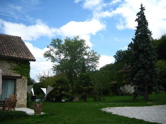 Chateau de Courtebotte: Garden