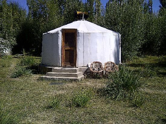 Ladakh Sarai: The Yurt