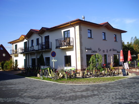 Usedom-Bike Hotel: Hotel von vorne