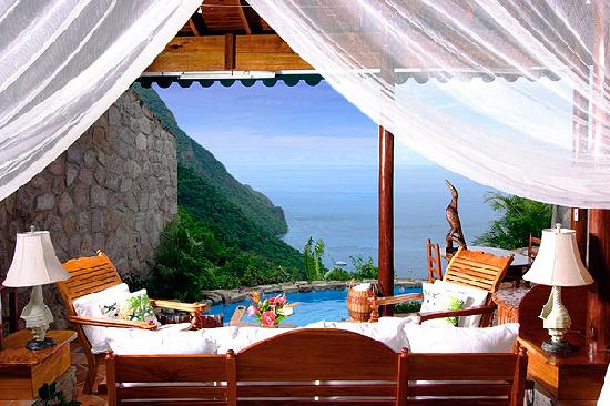 Ladera Resort: Hilltop Dream Suite with pool