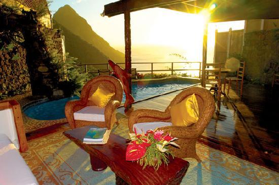 Ladera Resort: Luxury Villa with pool