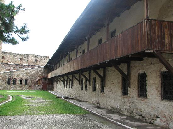 Fagaras Fortress: inside view