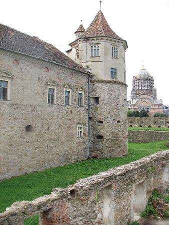 Fagaras, Rumänien: The Castle inside fortress