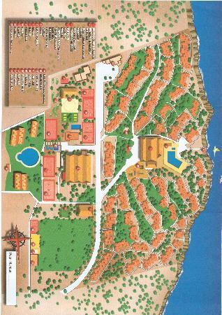 Sun Club Eldorado: Map of resort