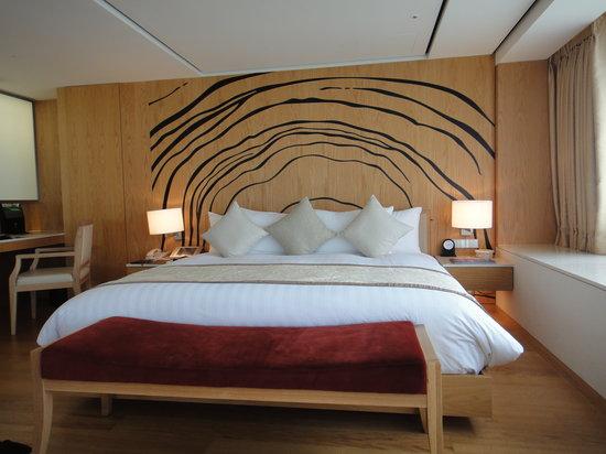 Banyan Tree Club & Spa Seoul: 客室ベッド