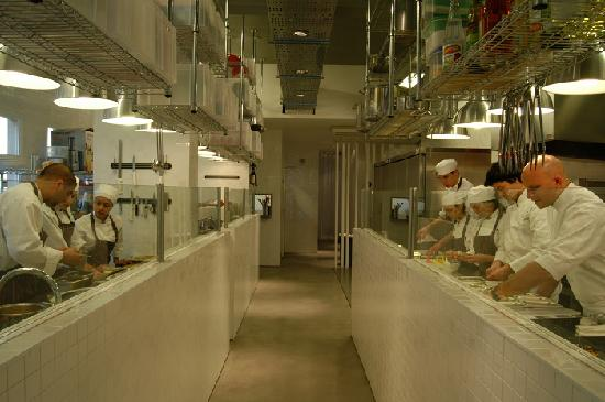 the food factory open galley