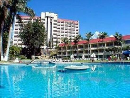 Hotel Aristos Mirador Cuernavaca: A view of this fake hotel