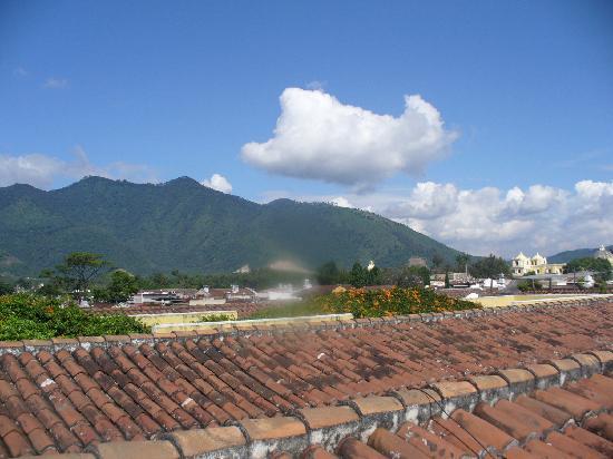 Hotel Posada Del Hermano Pedro: desde la terraza