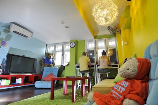 Beary Nice! by a beary good hostel: beary nice lounge