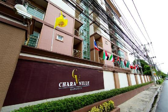 Chara Ville Serviced Apartment: front