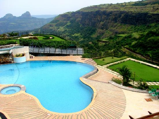 Pool area picture of upper deck resort pvt ltd lonavala tripadvisor for Resorts in khandala with swimming pool